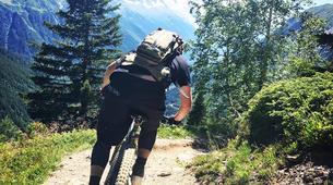 Mountain bike-Chamonix Mont-Blanc-Mountain bike excursion in the Chamonix Valley-4