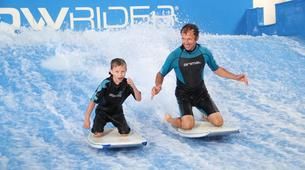 Surfing-Bedford-Indoor surfing lesson in Bedford-4