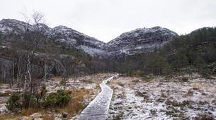 Randonnée / Trekking-Stavanger-Nature hike to Preikestolen (Pulpit Rock) in Ryfylke-8