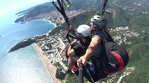 Paragliding-Budva-Tandem paragliding flight near Budva, Montenegro-8