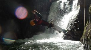Canyoning-Imst-Beginner's canyoning at Alpine Roses Gorge in the Tirol-7