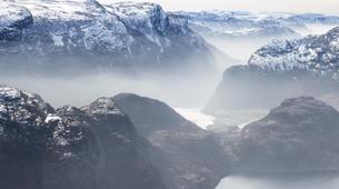 Snowshoeing-Stavanger-Winter/Spring Hike to Preikestolen (Pulpit Rock) in Ryfylke-3