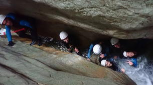 Canyoning-Annecy-Canyon du Pont du Diable, Bellecombes-en-Bauges-12