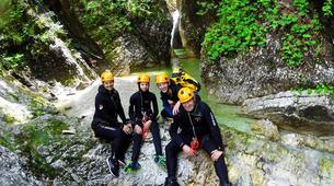 Canyoning-Bled-Grmečica Waterfall Canyon, near Bled-6