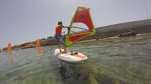 Windsurfing-Malta-Beginner Windsurfing lessons and courses in Malta-5