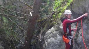 Canyoning-Imst-Xtreme canyoning at Kronburg Gorge in the Tirol-4