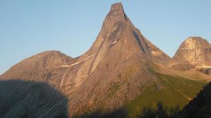 Rock climbing-Kjøpsvik-Rock climbing up Stetind Mountain in Kjøpsvik-2