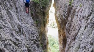 Via Ferrata-Gorges du Tarn-Via ferrata of La Canourgue, Sainte-Enimie, Lozère-3