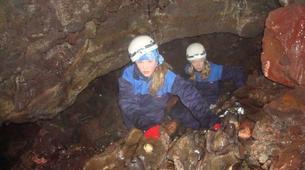 Caving-Iceland-Caving excursion in Gjábakkahellir, Thingvellir National Park-4