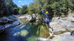 Canyoning-Gorges du Tarn-Sources du Tarn canyon from Saint-Enimie, Lozere-3