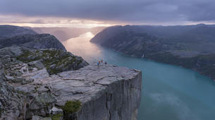Randonnée / Trekking-Stavanger-Sunrise hiking excursion to Preikestolen (Pulpit Rock) in Ryfylke-3