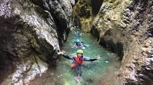Canyoning-Lake Garda-Canyon Palvico, near Lake Garda-5