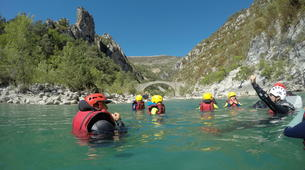Canyoning-Gorges du Verdon-Randonnée Aquatique dans le Verdon-4