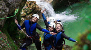 Canyoning-Bled-Canyoning to Lake Bled in Bohinj Valley-4