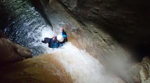 Canyoning-Annecy-Canyon du Pont du Diable, Bellecombes-en-Bauges-9