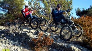 VTT-Mont Ventoux-Randonnées Quadbike au Mont Ventoux depuis Bédoin-3