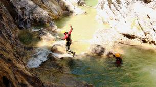 Canyoning-Imst-Adventure canyoning at Plansee Gorge in the Tirol-10