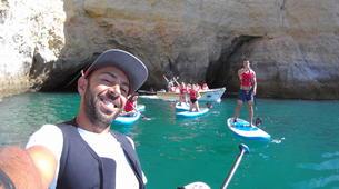 Stand up Paddle-Armação de Pêra-SUP excursion to the Benagil Caves-5