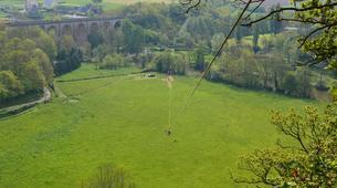 Zip-Lining-Clécy-Giant zip lining in Clécy, Normandy-1