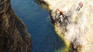 Canyoning-Imst-Adventure canyoning at Plansee Gorge in the Tirol-11