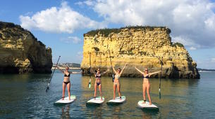 Stand Up Paddle-Lagos-Stand up paddle rentals on Batata beach, Algarve-2
