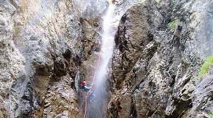 Canyoning-Imst-Xtreme canyoning at Dollinger Gorge in the Tirol-7