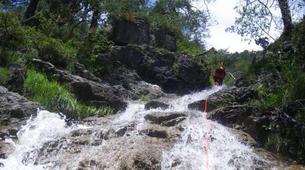 Canyoning-Imst-Xtreme canyoning at Dollinger Gorge in the Tirol-8