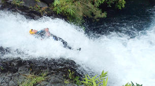 Canyoning-Langevin River, Saint-Joseph-Aquatic hiking on the Langevin river in Reunion Island-6