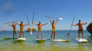 Stand Up Paddle-Lagos-Stand up paddle rentals on Batata beach, Algarve-1