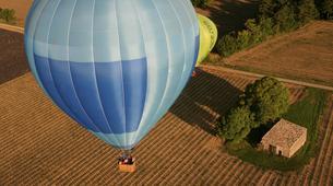 Montgolfière-Gorges du Verdon-Vol en Montgolfière en Provence depuis Puimoisson-2