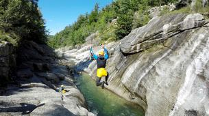 Canyoning-Gorges du Tarn-Sources du Tarn canyon from Saint-Enimie, Lozere-6