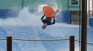 Surfing-Bedford-Indoor surfing lesson in Bedford-5