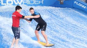 Surfing-Bedford-Indoor surfing lesson in Bedford-1