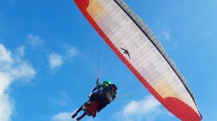 Paragliding-Bali-Tandem paragliding flight near Uluwatu, Bali-4
