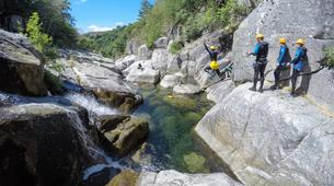 Canyoning-Gorges du Tarn-Sources du Tarn canyon from Saint-Enimie, Lozere-2