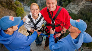 Bungee Jumping-Queenstown-Canyon Swing from 109 metres over Shotover Canyon-7