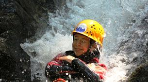 Canyoning-Imst-Family canyoning at Piburger Gorge in the Tirol-5