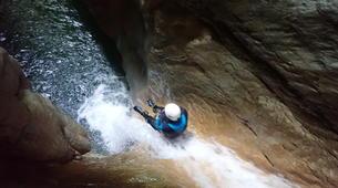 Canyoning-Annecy-Canyon du Pont du Diable, Bellecombes-en-Bauges-13