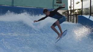Surfing-Bedford-Indoor surfing lesson in Bedford-6