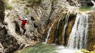 Canyoning-Imst-Adventure canyoning at Plansee Gorge in the Tirol-3