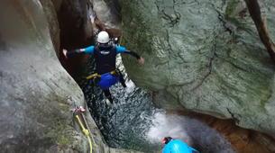 Canyoning-Annecy-Canyon du Pont du Diable, Bellecombes-en-Bauges-11
