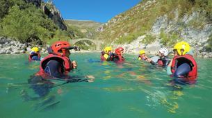 Canyoning-Gorges du Verdon-Randonnée Aquatique dans le Verdon-13