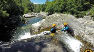 Canyoning-Gorges du Tarn-Sources du Tarn canyon from Saint-Enimie, Lozere-1