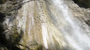 Canyoning-Imst-Xtreme canyoning at Upper Rose Garden Gorge in the Tirol-6