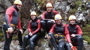 Canyoning-Imst-Beginner's canyoning at Alpine Roses Gorge in the Tirol-2