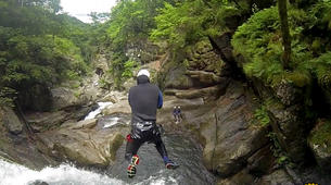 Canyoning-Gorges du Tarn-Canyon of Tapoul in the Cevennes National Park-1