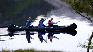 Kayaking-Bodø-Canoeing excursion down the Futelva River near Bodø-2