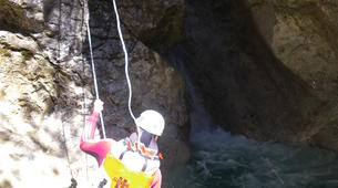 Canyoning-Imst-Xtreme canyoning at Upper Rose Garden Gorge in the Tirol-3