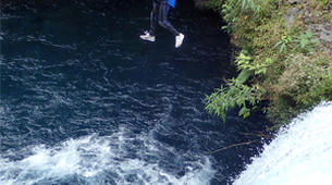 Canyoning-Langevin River, Saint-Joseph-Aquatic hiking on the Langevin river in Reunion Island-2