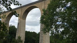 Saut à l'élastique-Vienne-Saut à l'Elastique au Viaduc de Le Blanc près de Tours (38 mètres)-2